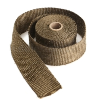 5M Titanium Exhaust Heat Wrap Manifold Downpipe High Temp Bandage Tape Roll