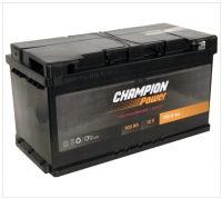 Auto akumulators - CHAMPION POWER 100Ah, 750A, 12V