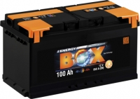 Auto akumulators - BOX ENERGY 100Ah, 830A, 12V