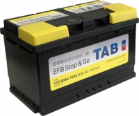 EFB auto akumulators - TAB (START & GO ), 80AH, 760A, 12V