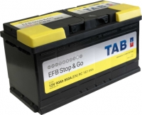 EFB auto akumulators - TAB (START & GO), 90Ah, 850A, 12V